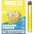 Breeze Plus Disposable Pod System | Banana Freeze (Mint) - Paradise Vape Shop