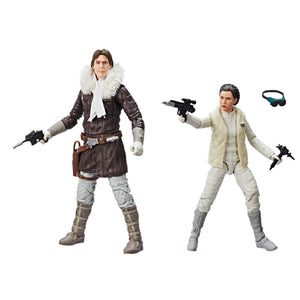 Star Wars Black Series Exclusive Hoth Han Solo & Princess Leia Action Figure 2-Pack Pre-Order