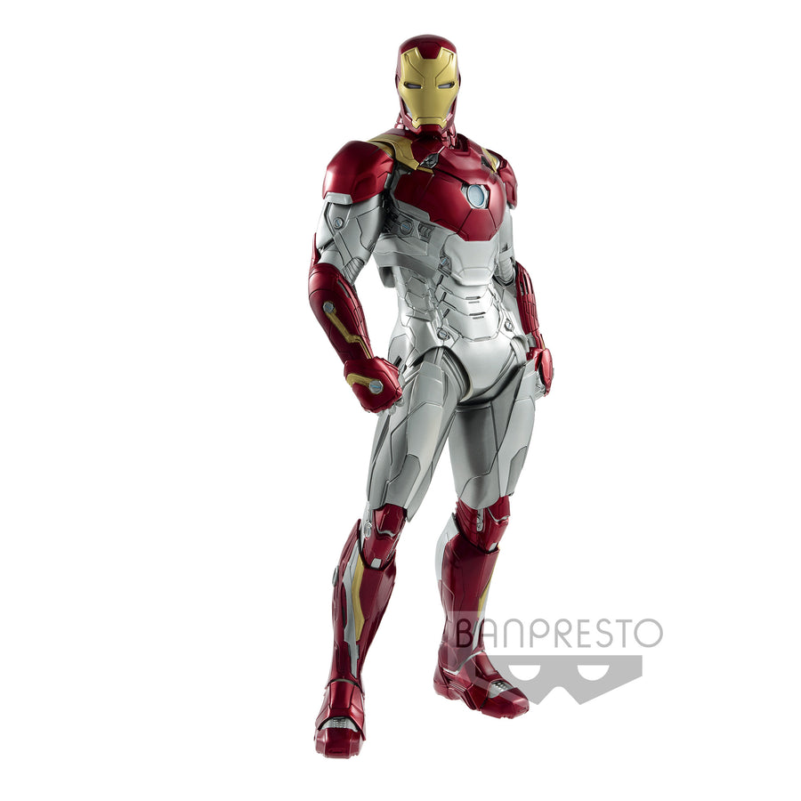 Marvel Bandai Banpresto Homecoming Iron Marn Mark 47 Statue