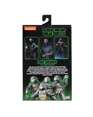 Teenage Mutant Ninja Turtles Neca Foot Soldier Melee Weapons Action Figure