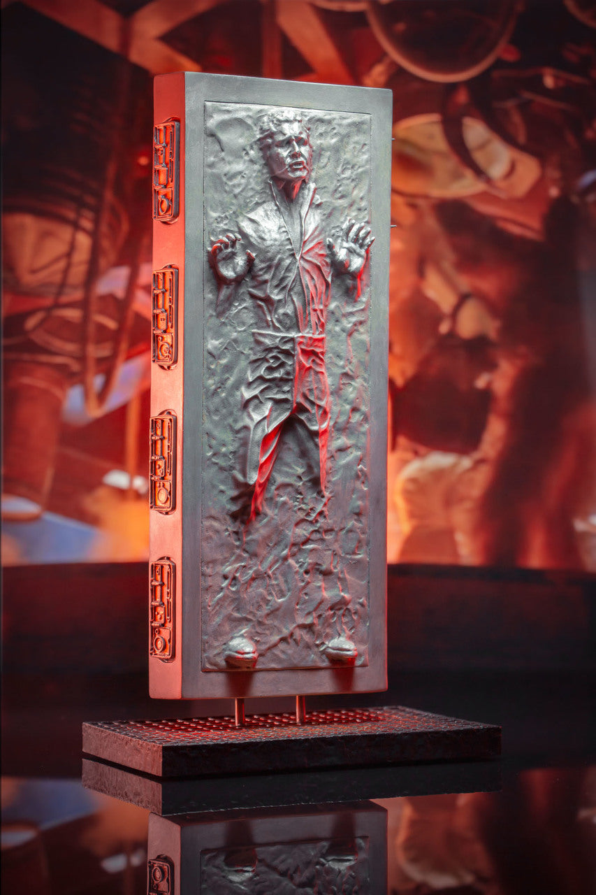 Star Wars Gentle Giant Collectors Gallery Han Solo Carbonite Statue
