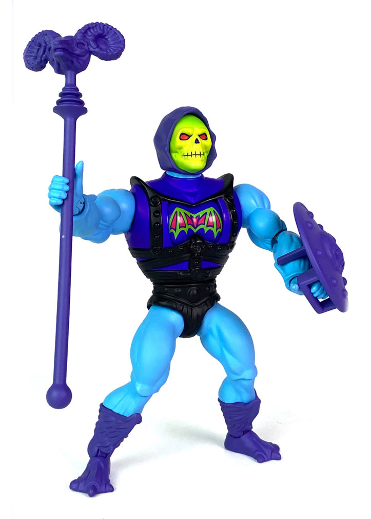 Masters Of The Universe Origins Deluxe Battle Armor Skeletor Action Figure Pre-Order