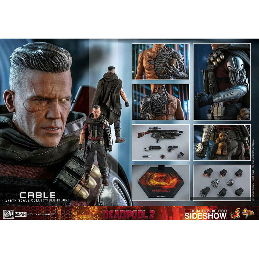 Marvel Hot Toys Deadpool 2 Cable 1:6 Scale Action Figure MMS583 Pre-Order