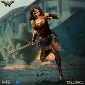 DC Mezco Wonder Woman One:12 Scale Action Figure