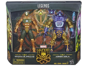 Marvel Legends Arnim Zola & Supreme Captain America Action Figure 2 Pack