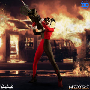 DC Mezco Deluxe Harley Quinn One:12 Scale Action Figure