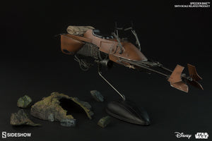 Star Wars Sideshow Collectibles Return of the Jedi Speeder Bike 1:6 Scale Accessory