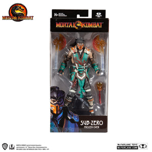 Mortal Kombat McFarlane Sub Zero Frozen Over 7 Inch Action Figure
