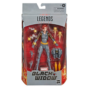 Marvel Legends Black Widow Series Exclusive Black Widow Action Figure