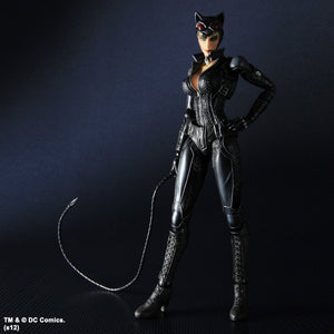 DC Square Enix Play Arts Kai Arkham City Catwoman Action Figure