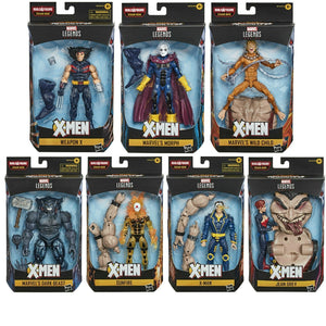 Marvel Legends X-men Age Of Apocalypse Series BAF Sugar Man Set of 7 Action Figures