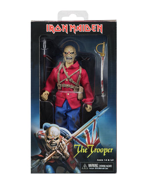 Iron Maiden Neca Eddie The Trooper Clothed 8 Inch Action Figure