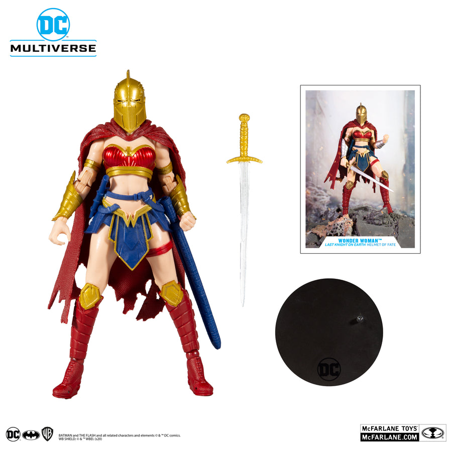 DC Multiverse McFarlane Last Knight On Earth Wonder Woman Action Figure Pre-Order