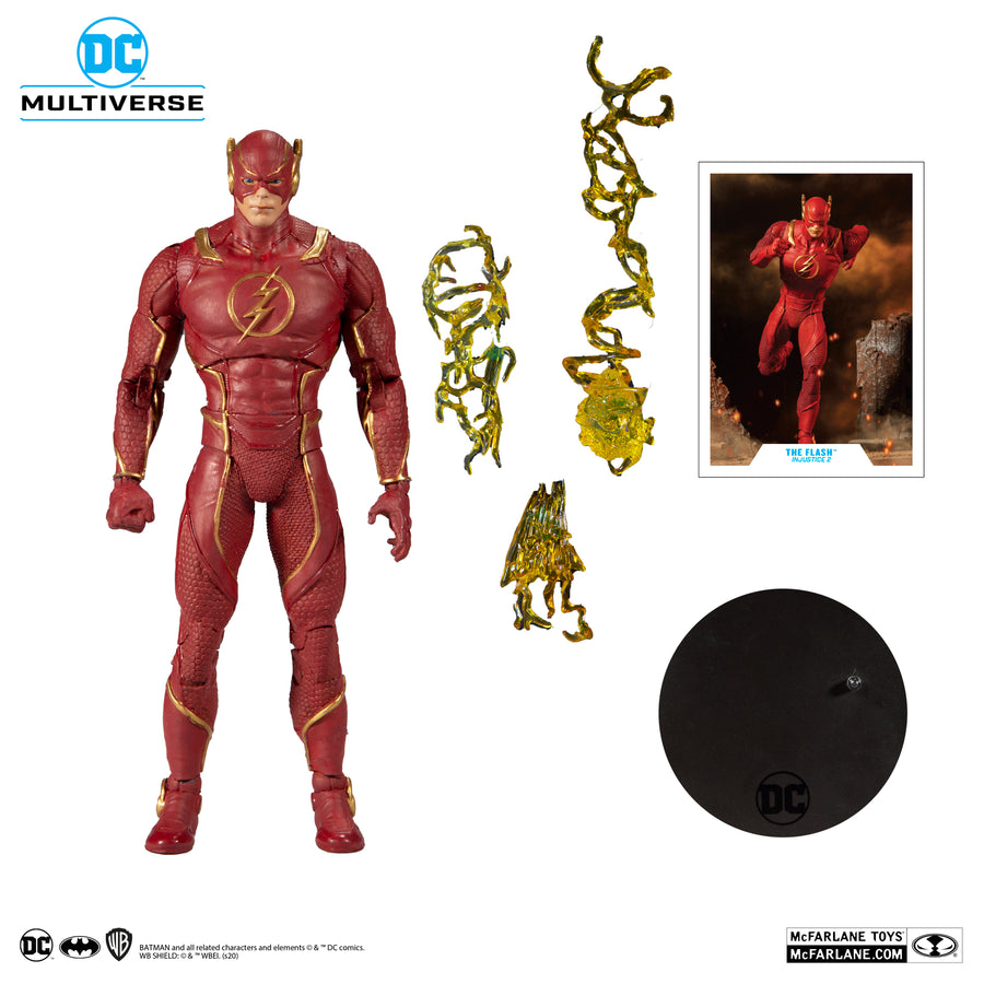 DC Multiverse McFarlane Series Injustice 2 The Flash Action Figure Pre-Order