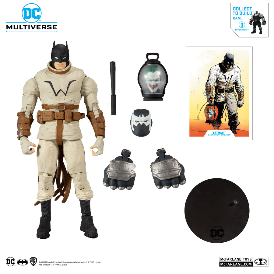 DC Multiverse McFarlane Bane Series Last Knight Batman Action Figure
