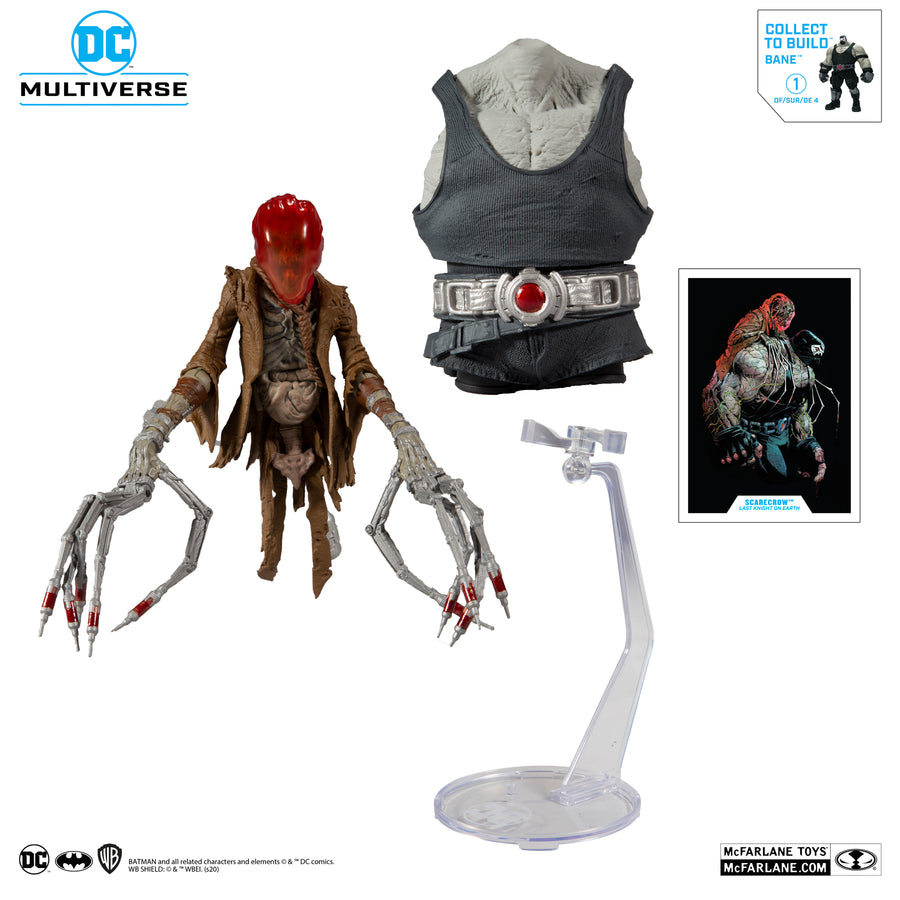 DC Multiverse McFarlane Bane Series Last Knight Scarecrow Action Figure