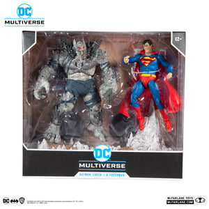 DC Multiverse McFarlane Superman v Devastator Action Figure 2-Pack