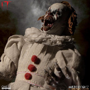 IT Mezco Pennywise One:12 Scale Action Figure