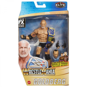 WWE Wrestling Elite Wrestlemania Series Goldberg Action Figure Pre-Order
