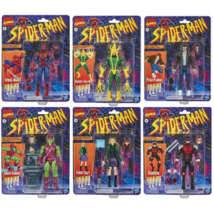 Marvel Legends Vintage Spider-Man Collection Set of 6 Action Figure