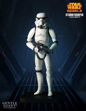 Star Wars Gentle Giant Collectors Gallery Rebels Stormtrooper Maquette Statue