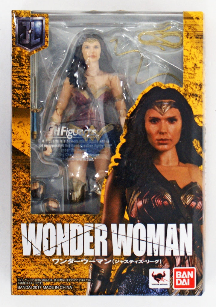 DC Bandai SH Figuarts Justice League Wonder Woman Action Figure