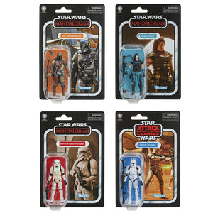 Star Wars The Vintage Collection The Mandalorian Set of 4 Action Figure Pre-Order