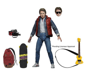 Back To The Future Neca Ultimate Marty McFly Action Figure Pre-Order