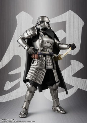 Star Wars Bandai Tamashii Nations Ashigaru Captain Phasma Movie Realization Action Figure Pre-Order