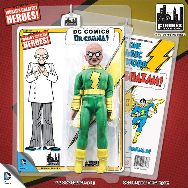 DC Retro Mego Kresge Style Shazam Dr Sivana Series 1 Action Figure - Action Figure Warehouse Australia | Comic Collectables