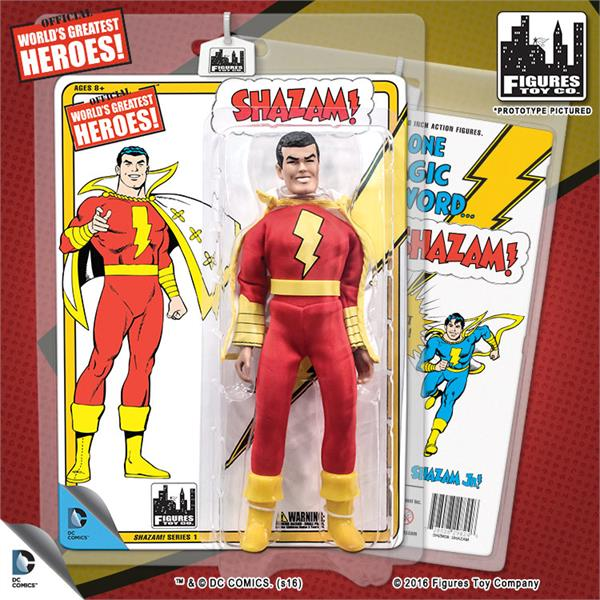 DC Retro Mego Kresge Style Shazam Series 1 Action Figure - Action Figure Warehouse Australia | Comic Collectables