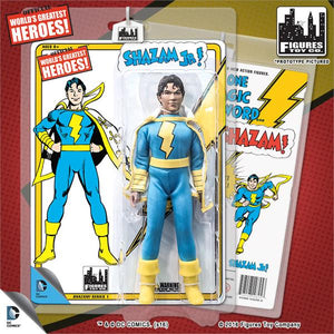 DC Retro Mego Kresge Style Shazam Jr Series 1 Action Figure - Action Figure Warehouse Australia | Comic Collectables