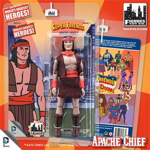 DC Retro Mego Kresge Style Super Friends Apache Chief Series 1 Action Figure - Action Figure Warehouse Australia | Comic Collectables
