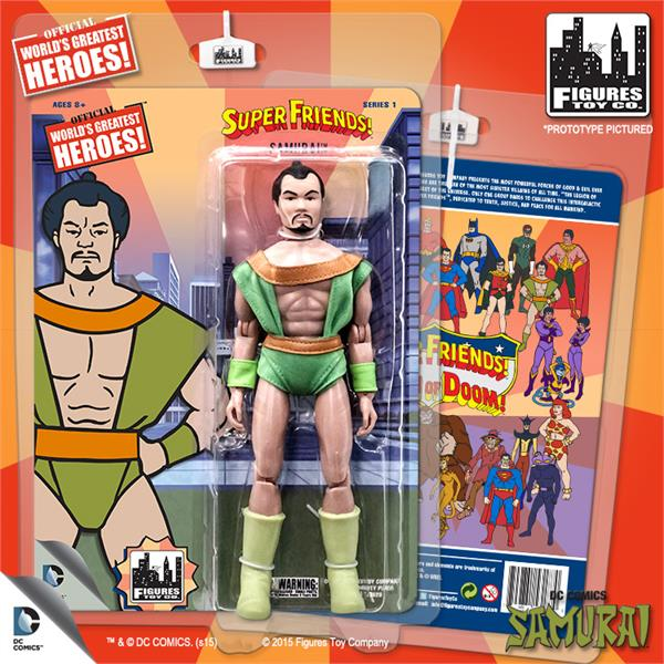 DC Retro Mego Kresge Style Super Friends Samurai Series 1 Action Figure - Action Figure Warehouse Australia | Comic Collectables