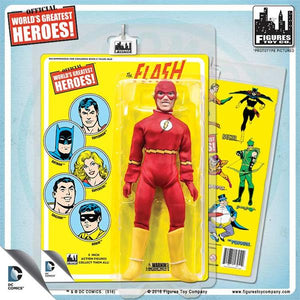 DC Retro Mego Kresge Style The Flash Retro Card Action Figure - Action Figure Warehouse Australia | Comic Collectables