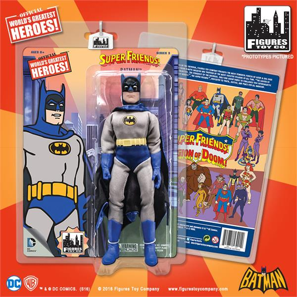DC Retro Mego Kresge Style Super Friends Batman Series 3 Action Figure - Action Figure Warehouse Australia | Comic Collectables