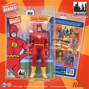 DC Retro Mego Kresge Style Super Friends The Flash Series 3 Action Figure - Action Figure Warehouse Australia | Comic Collectables