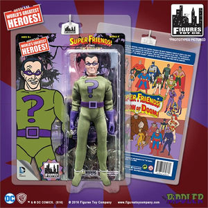 DC Retro Mego Kresge Style Super Friends The Riddler Series 3 Action Figure - Action Figure Warehouse Australia | Comic Collectables