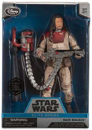 Star Wars Disney Store 6 Inch Elite Series Die Cast Baze Malbus