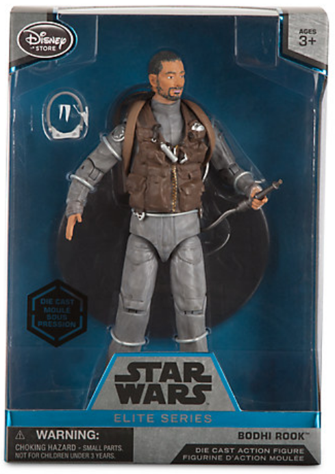 Star Wars Disney Store 6 Inch Elite Series Die Cast Bodhi Rook
