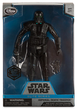 Star Wars Disney Store 6 Inch Elite Series Die Cast Death Trooper