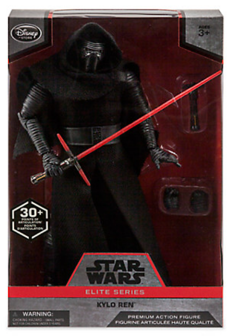 Star Wars Disney Store Exclusive 10 Inch Kylo Ren Figure