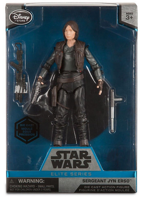 Star Wars Disney Store 6 Inch Elite Series Die Cast Jyn Erso