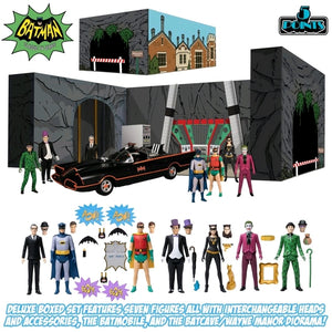 DC Mezco Batman 1966 5 Points Deluxe Box Set Action Figure Pre-Order