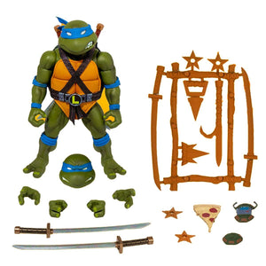 Teenage Mutant Ninja Turtles Super7 Ultimates Leonardo Action Figure