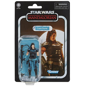 Star Wars The Vintage Collection Mandalorian Cara Dune Action Figure Pre-Order
