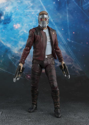 Marvel Bandai SH Figuarts GOTG Vol2 Star Lord W/Explosion Pack Action Figure