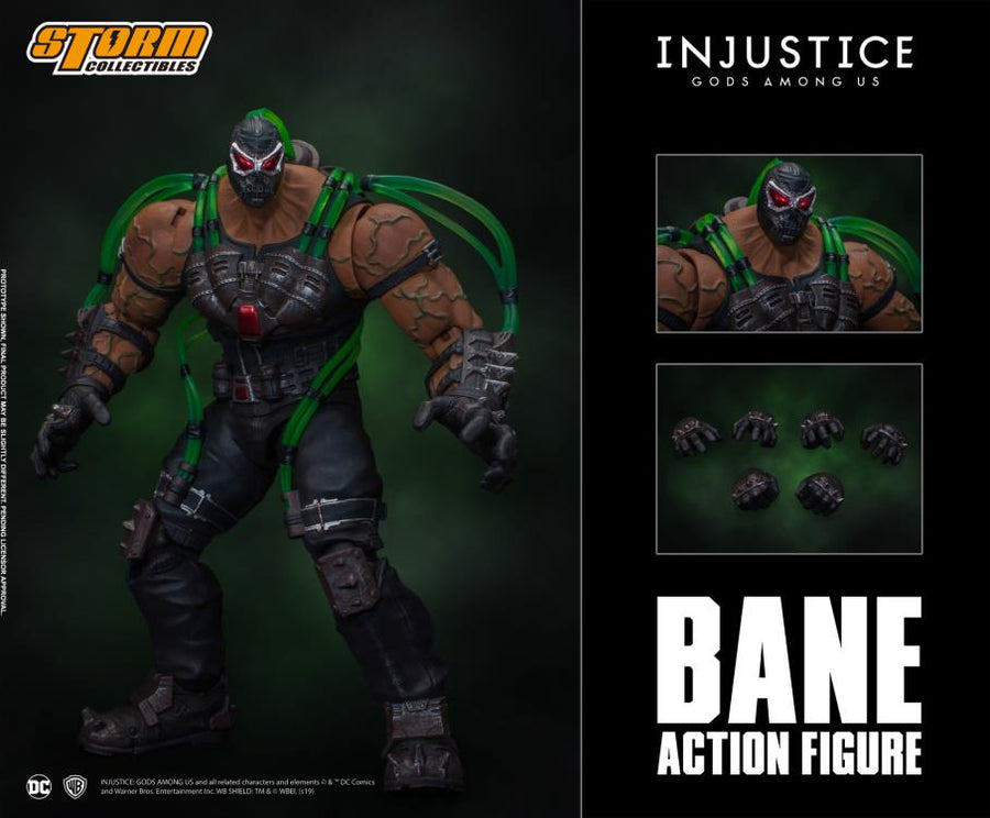 DC Storm Collectibles Injustice Gods Among Us Bane 1:12 Scale Action Figure Pre-Order