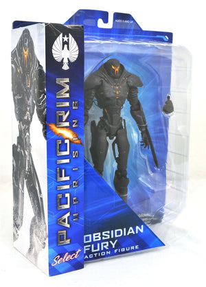 Pacific Rim Uprising Diamond Select Obsidian Fury Action Figure
