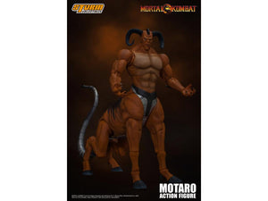 Mortal Kombat Storm Collectibles Motaro 1:12 Scale Action Figure Pre-Order